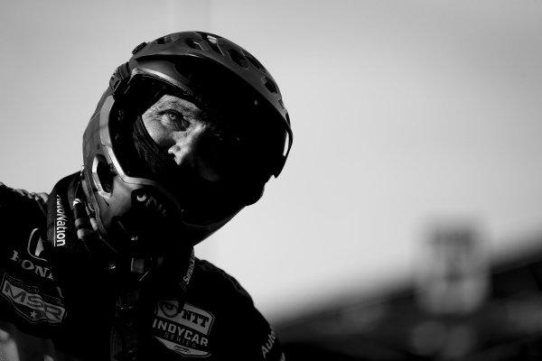 #60: Jack Harvey, Meyer Shank Racing Honda crew member