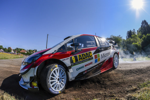 Esapekka Lappi likes Rallye Deutschland, he showed impressive speed in 2017 and continues to improve on asphalt