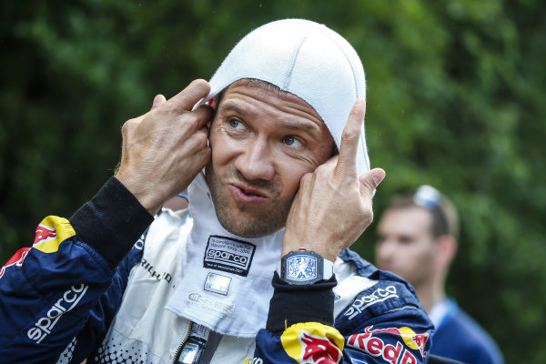Preparing to meet the challenge of Rally Finland, Sebastien Ogier [France]