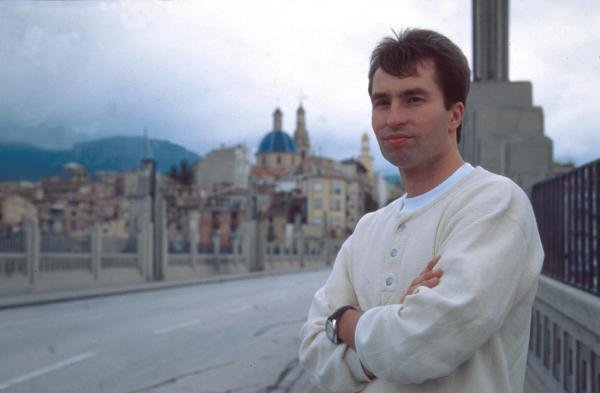 Heinz-Harald Frentzen at home in Monte Carlo.Formula One Drivers At Home