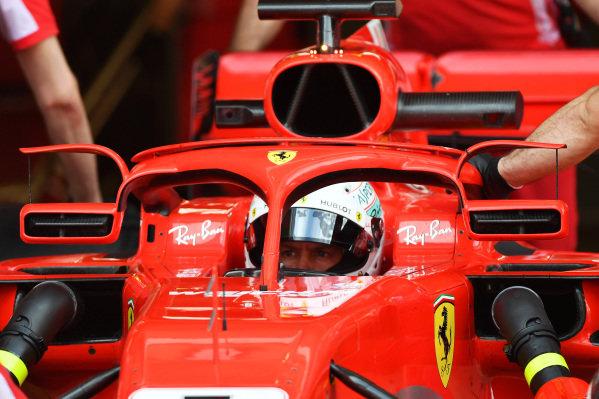 Sebastian Vettel (GER) Ferrari SF-71H