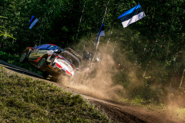 2017 FIA World Rally Championship, Round 09, Rally Finland / July 27 - 30, 2017, Juho Hanigen, Toyota, action, Worldwide Copyright: McKlein/LAT