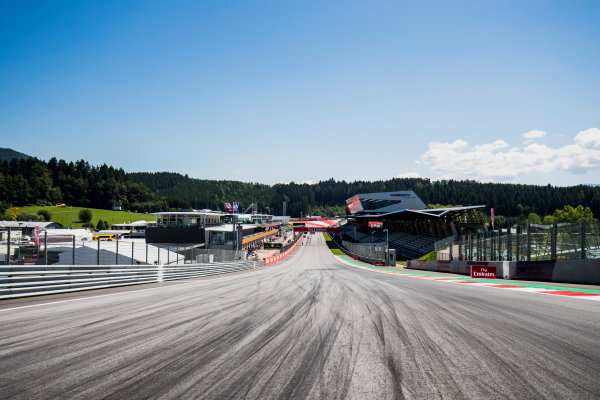 2017 GP3 Series Round 2.  Red Bull Ring, Spielberg, Austria. Thursday 6 July 2017. A view of the track. Photo: Zak Mauger/GP3 Series Media Service. ref: Digital Image _56I0002