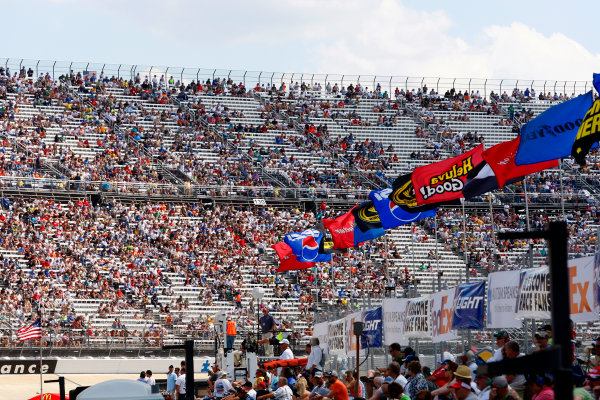 1-3 June, 2012, Dover, Delaware USADisappointing crowd at Dover International Speedway(c)2012, Lesley Ann MillerLAT Photo USA