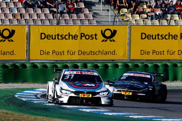 2017 DTM Round 9  Hockenheimring, Germany  Sunday 15 October 2017. Tom Blomqvist, BMW Team RBM, BMW M4 DTM  World Copyright: Alexander Trienitz/LAT Images ref: Digital Image 2017-DTM-HH2-AT3-2263