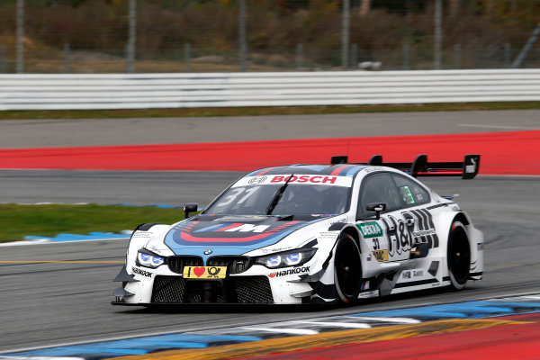 2017 DTM Round 9  Hockenheimring, Germany  Friday 13 October 2017. Tom Blomqvist, BMW Team RBM, BMW M4 DTM  World Copyright: Alexander Trienitz/LAT Images ref: Digital Image 2017-DTM-HH2-AT2-0210