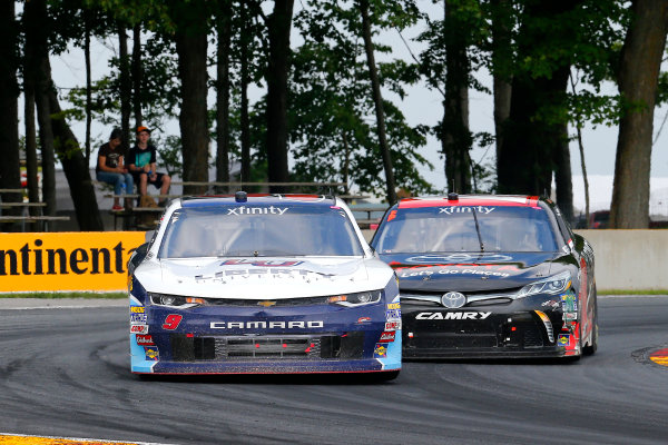 NASCAR XFINITY Series Johnsonville 180 Road America, Elkhart Lake, WI USA Sunday 27 August 2017 William Byron, Liberty University Chevrolet Camaro and Christopher Bell, Toyota Toyota Camry World Copyright: Russell LaBounty LAT Images