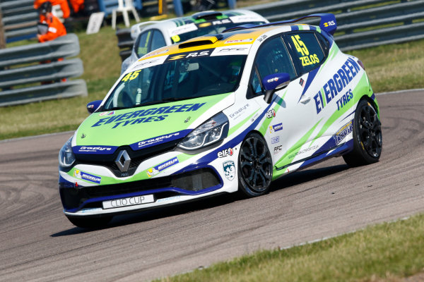 Renault Clio Cup Rockingham, 26th-27th August 2017, Dan Zelos (GBR) WDE Motorsport Renault Clio Cup World copyright.. JEP/LAT Images