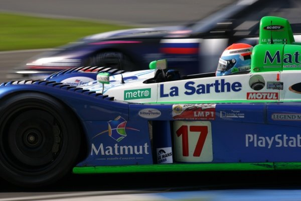 Didier Andre (FRA) Pescarolo Sport Pescarolo C60 Judd won the race.