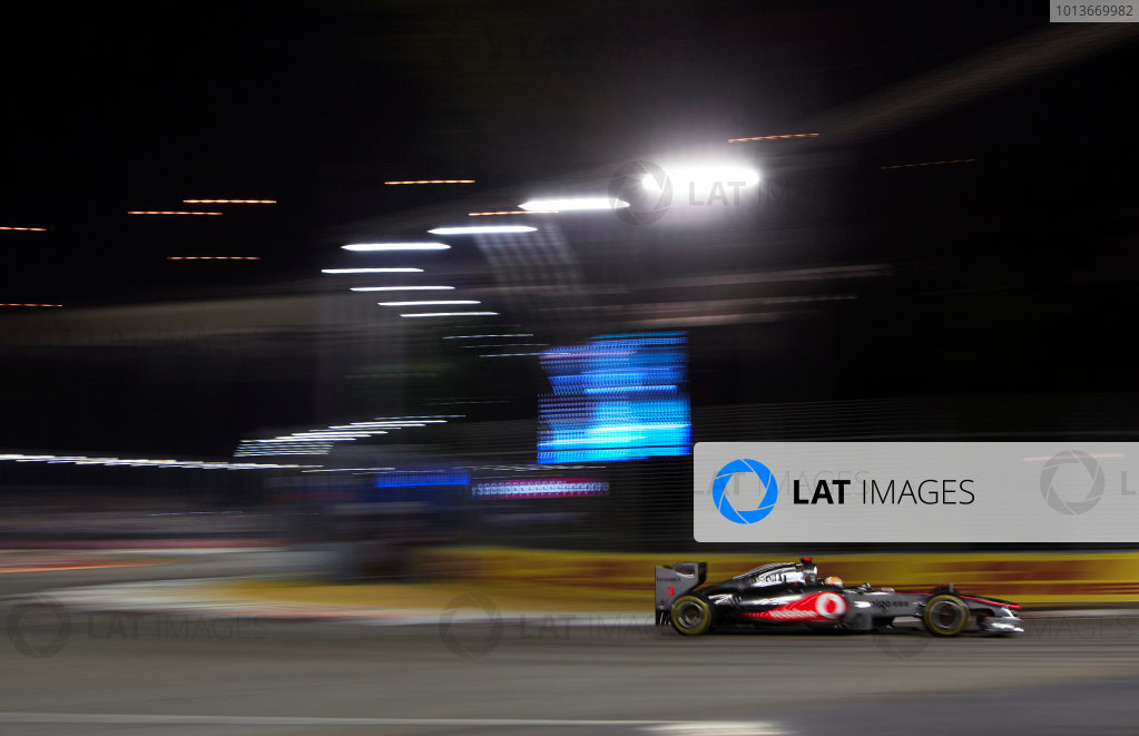 2011 Singapore Grand Prix - Saturday
