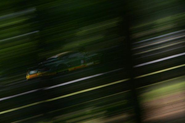2007 Le Mans Test Day2nd and 3rd June 2007.Le Mans, France.Sunday Test DayFabio Babini (ITA)/Jamie Davies (GBR)/Matteo Malucelli (ITA) (no 100 Aston Martin DBR9) action.World Copyright: Glenn Dunbar/LAT Photographic. ref: Digital Image YY8P5734