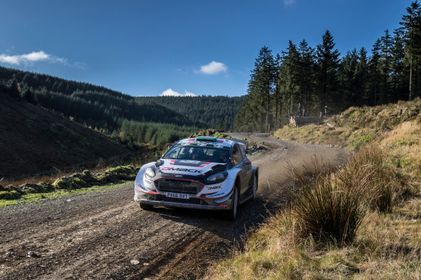 2017 FIA World Rally Championship, Round 12, Wales Rally GB, 26-29 October, 2017, Elfyn Evans, Ford,action, Worldwide Copyright: LAT/McKlein