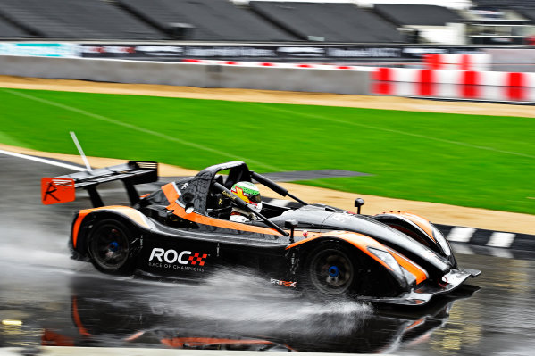 2015 Race Of Champions Olympic Stadium, London, UK Thursday 19 November 2015 Andy Priaulx (GBR) in the Radical SR3 RSX in Practice Copyright Free FOR EDITORIAL USE ONLY. Mandatory Credit: 'Race Of Champions'