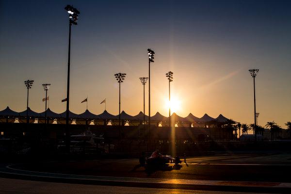2015 GP3 Series Test 4. Yas Marina Circuit, Abu Dhabi, United Arab Emirates. Thursday 3 December 2015. Charles Leclerc (MON, Arden International)  World Copyright: Sam Bloxham/LAT Photographic. ref: Digital Image _SBL2275