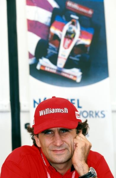 Alex ZanardiÕs (ITA) Williams miserable season continued when he retired with a blown engine. French Grand Prix, Magny-Cours, 27 June 1999.