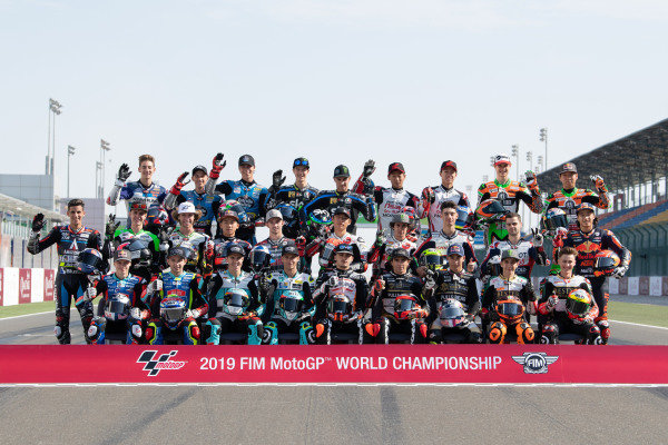 Moto3 rider lineup.