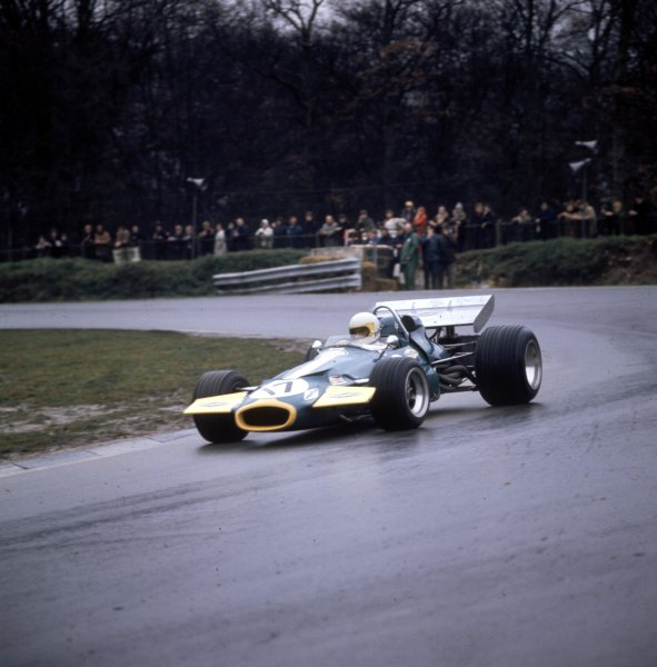 1970 British Grand Prix.Brands Hatch, England.16-18 July 1970.Jack Brabham (Brabham BT33 Ford) 2nd position.Ref-3/4109AB.World Copyright - LAT Photographic