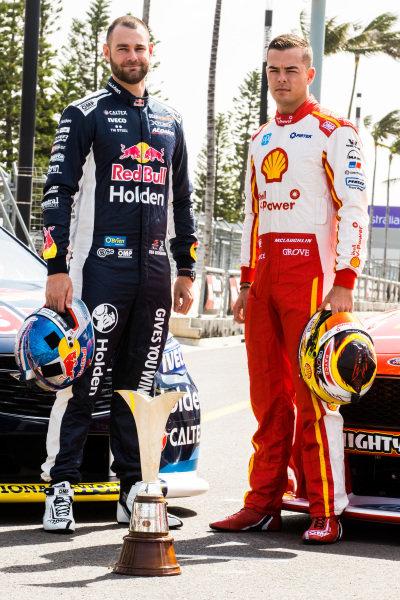 Shane van Gisbergen, Triple Eight Race Engineering Holden Scott McLaughlin, DJR Team Penske Ford