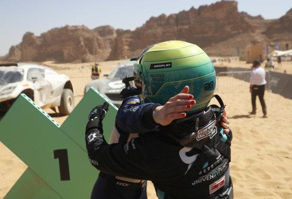 Molly Taylor (AUS), Rosberg X Racing celebrates