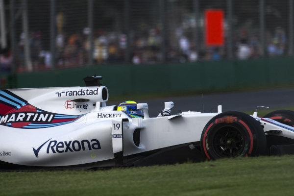 Felipe Massa (BRA) Williams FW40 at Formula One World Championship, Rd1, Australian Grand Prix, Qualifying, Albert Park, Melbourne, Australia, Saturday 25 March 2017.