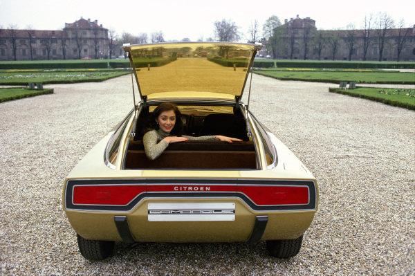 Concept Car, Bertone Citroen GS Camargue 1972