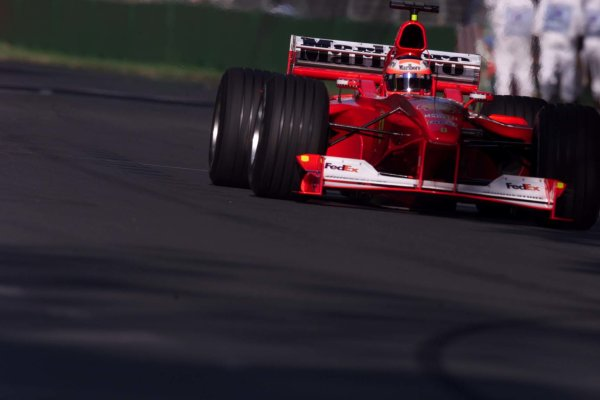 2000 Australian Grand Prix.