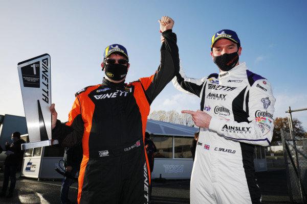 Chris Salkeld - Assetto Motorsport Ginetta G55 Colin White - CWS Motorsport Ginetta G55