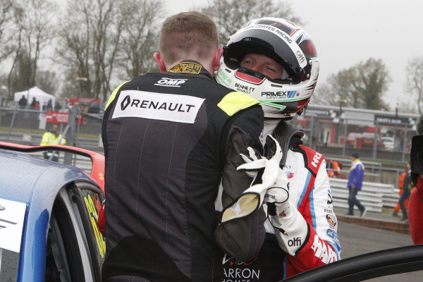 Jack Young -  M.R.M. Clio Cup   Max Coates - Team Hard - Clio Cup