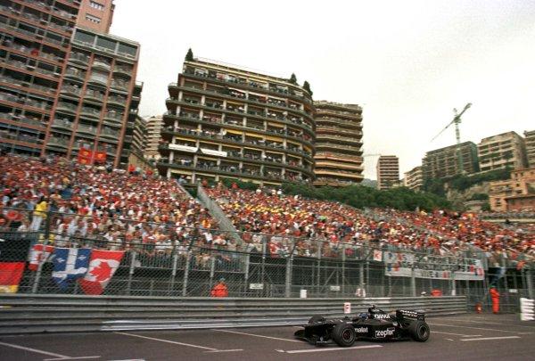 1998 Monaco Grand Prix.Monte Carlo, monaco.21-24 May 1998.Pedro Diniz (Arrows A19) 6th position.World Copyright - LAT Photographic