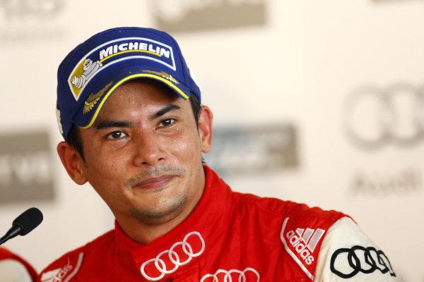 Alex Yoong (MAL) Audi TEDA Racing Team during press conference at Audi R8 LMS Cup, Rd4, Sepang, Malaysia, 4-6 September 2015.