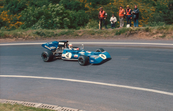 1972 French Grand Prix.Clermont-Ferrand, France.30/62/7 1972.Jackie Stewart (Tyrrell 003 Ford) 1st position.Ref-72 FRA 01.World Copyright - LAT Photographic