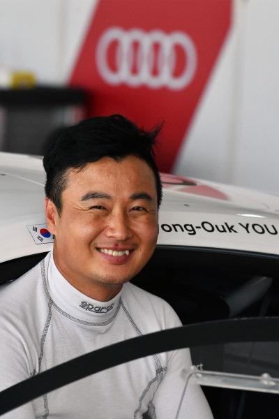 Kyong-Ouk You (KOR) Team Audi Korea at Audi R8 LMS Cup, Rd7 and Rd8, Shanghai, China, 8-10 September 2017.
