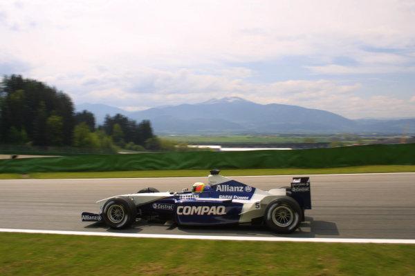 2001 Austrian Grand Prix.A1-Ring, Zeltweg, Austria.11-13 May 2001.Ralf Schumacher (Williams FW23 BMW).World Copyright - LAT Photographicref: 8 9 MB Digital