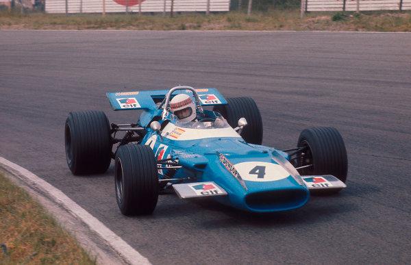 1969 Dutch Grand Prix.Zandvoort, Holland.19-21 June 1969.Jackie Stewart (Matra MS80 Ford) 1st position.Ref-69 HOL 07.World Copyright - LAT Photographic