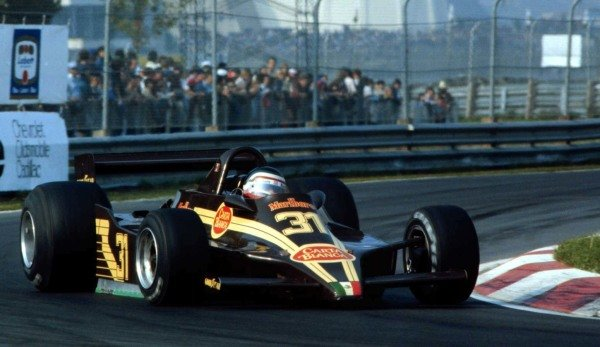 1979 Canadian Grand Prix.Montreal, Quebec, Canada.28-30 September 1979.Hector Rebaque (Rebaque HR100 Ford). He exited the race due to a broken top engine mount.World Copyright - LAT Photographic