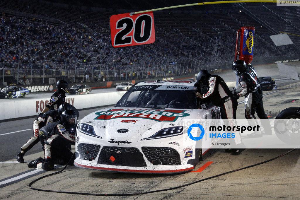 #20: Harrison Burton, Joe Gibbs Racing, Toyota Supra Hunt Brothers Pizza/DEX Imaging