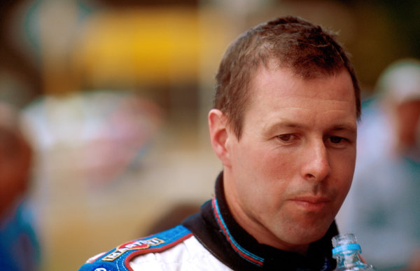 Rally Australia10th-12th November 2000Colin McRae, Ford Focus, was forced to retire with engine failure. Portrait.World Copyright - LAT Photographic