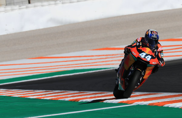2017 Moto2 Championship - Round 18 Valencia, Spain  Friday 10 November 2017 Miguel Oliveira, Red Bull KTM Ajo  World Copyright: Gold and Goose Photography/LAT Images  ref: Digital Image 704775