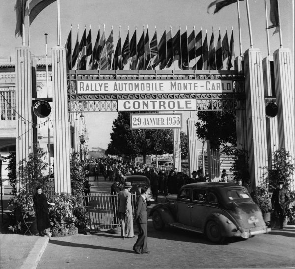 Monte Carlo Monaco. 29th January 1938.