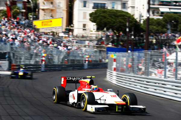 2017 FIA Formula 2 Round 3. Monte Carlo, Monaco. Saturday 27 May 2017. Robert Visoiu (ROU, Campos Racing)  Photo: Zak Mauger/FIA Formula 2. ref: Digital Image _X4I9554