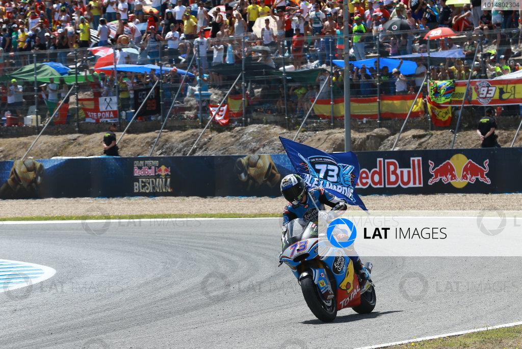2017 Moto2 Championship - Round 4 Jerez, Spain Sunday 7 May 2017 Race winner Alex Marquez, Marc VDS World Copyright: Gold & Goose Photography/LAT Images ref: Digital Image 668723