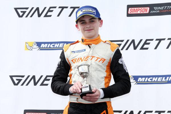 2017 Ginetta Junior championship  Thruxton, 6th-7th May 2017,  Harry King Elite Motorsport Ginetta Junior World copyright. JEP/LAT Images