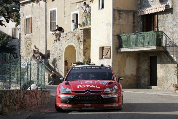 2007 FIA World Rally ChampionshipRound 13Rally of France, Tour de Course 200711-14 October 2007Sebastien Loeb, Citroen, Action.Worldwide Copyright: McKlein/LAT