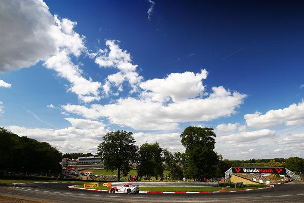 2017 British GT Championship, Brands Hatch, 5th-6th August 2017, Alex Reed  / David Pittard -  Lanan Ginetta    World Copyright. JEP/LAT Images