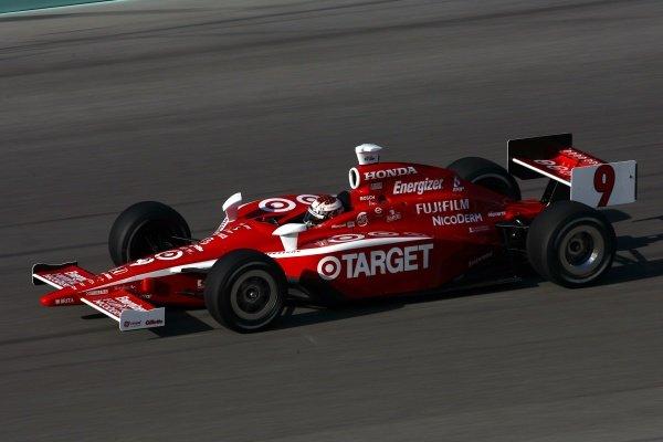 Scott Dixon (NZL), Target Ganassi Racing Dallara Honda, finished second.IRL IndyCar Series, Rd1, XM Satellite Indy 300, Homestead-Miami Speedway, Homestead, FLorida, USA. 23-25 March 2007.DIGITAL IMAGE