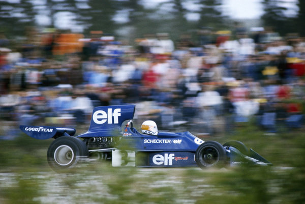Jody Scheckter, Tyrrell 007 Ford.