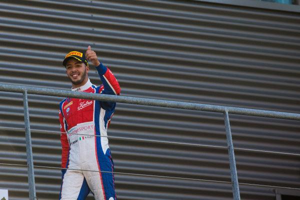 2016 GP3 Series Round 6 Spa-Fracorchamps, Spa, Belgium. Sunday 28 August 2016. Antonio Fuoco (ITA, Trident)  Photo: Sam Bloxham/GP3 Series Media Service. ref: Digital Image _SBB5956