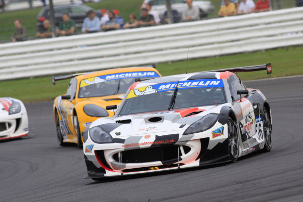 2014 Ginetta GT4 Supercup, Silverstone, England. 27th-28th September 2014. David Pattison (GBR) Tolman Motorsport. World Copyright: Ebrey / LAT Photographic.