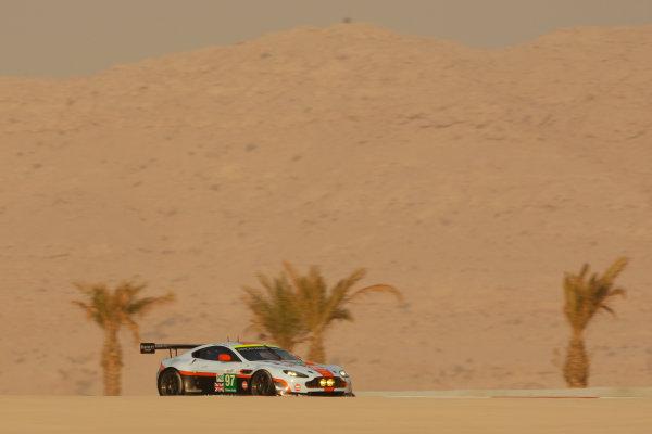 Bahrain, 27th-29th September 2012,Stefan Mucke/Darren Turner Aston Martin Racing Aston Martin Vantage V8World copyright: Ebrey/LAT Photographic