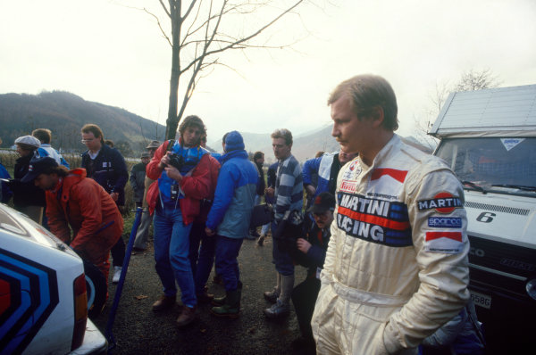 Lombard RAC Rally, Great Britain. 22nd - 25th November 1987.